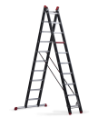 Mounter combination ladder