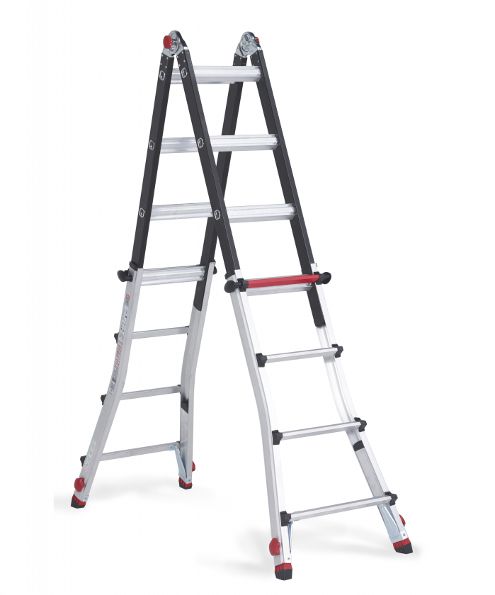 Varitrex Teleprof Flex telescopic folding ladder