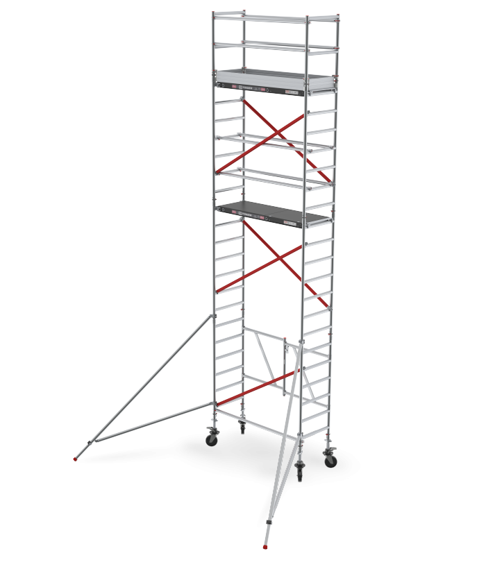 RS TOWER 54 single width folding-/rolling tower