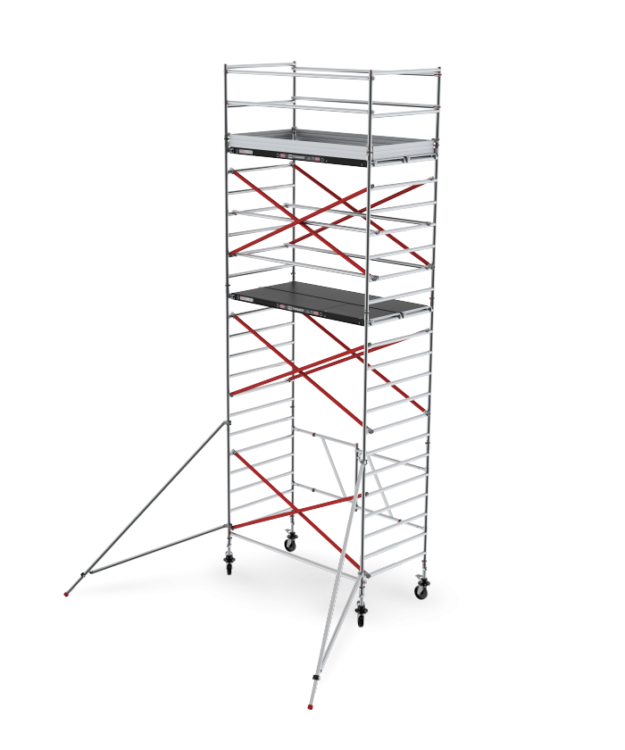 RS TOWER 55 double width folding-/rolling tower