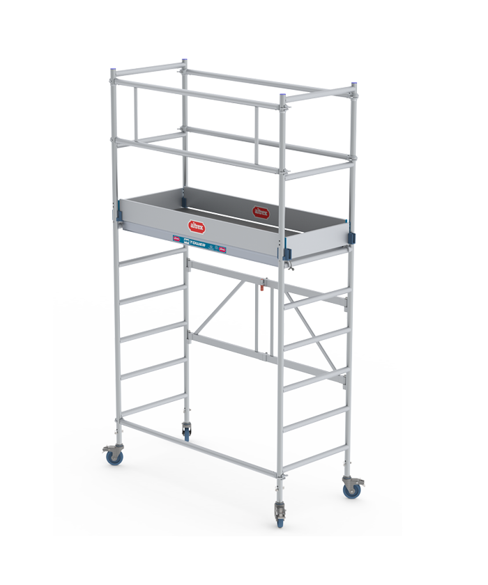 RS TOWER 34 single width folding-/rolling tower